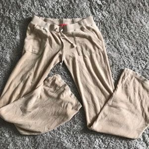 Juicy Couture Nude Velour Pants